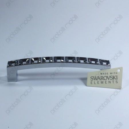 Maniglia certificata con tagliandino Swarovski per tutti i mobili