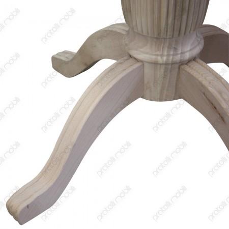 Basamento grezzo per tavolo rotondo