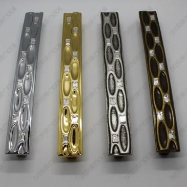 Maniglie Swarovski per armadio, vari colori