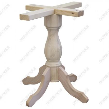 Gamboncino grezzo per tavolo rotondo